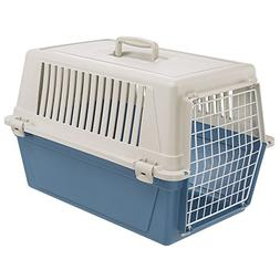 Ferplast Atlas 30 Cat and Dog Carrier, Blue
