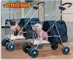 5th Ave Luxury Pet Stroller Blue