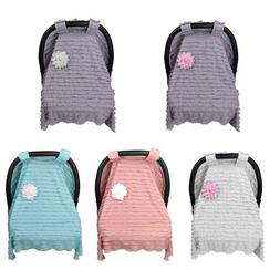 Baby Car Seat Cover Infant Newborn Nursing Cradle Canopy Bug
