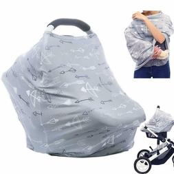 Baby Car Seat Covers Multifunctional Infant Carseat Canopy f
