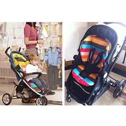 HuaYang Baby Infant Stroller Pushchairs Cushion Colorful Str