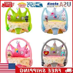 Baby Sofa Support Seat Cover Learning To Sit Plush Chair Cas
