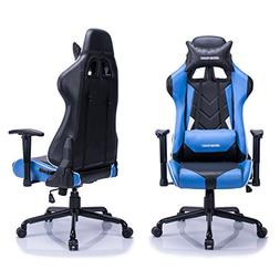 Aminiture High Back Racing Gaming Chair Recliner PU Leather