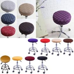 Bar Stool Covers Round Chair Seat Cover Cushions Sleeve Prot