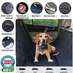 BarksBar Luxury Pet Car Seat Cover With Seat Anchors for Car
