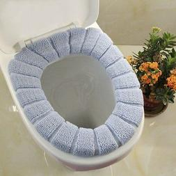 2pcs Bathroom Soft Thicker Warmer Stretchable Washable Cloth
