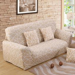 Beige Sofa <font><b>Cover</b></font> Stretch Furniture <font