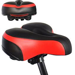 Bike Gel Seat Cushion Cover, UShake Bicycle Saddle Seat Cove