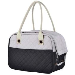 MG Collection Black / Gray Designer Inspired Stylish Quilted