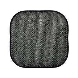 Black and Gray Memory Foam Chair Pad/Seat Cushion with Non-S