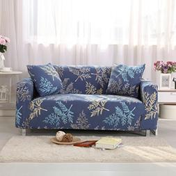 AbbeyTening Blue and yellow branches Sofa Slipcover Sofa Cov
