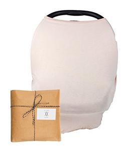 Baby Breastfeeding and Car Seat Cover – Multi-Use Infant C