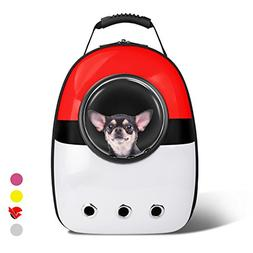 AntTech Breathable Pet Travel Poke Ball Backpack Space Capsu