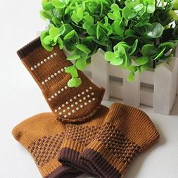 20 Pcs Brown Color Knitting Wool Furniture Socks Table Chair