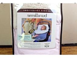 JJ Cole Bundleme Pink Infant Cover Baby Bunting for Car Seat