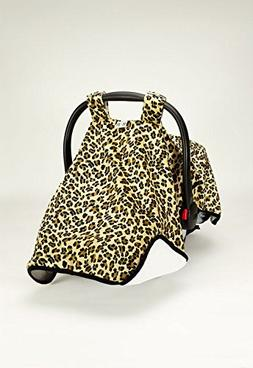 Canopy Car Cheetah Wow Seat Cover  #1 Car Seat Covers Sold!