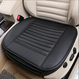 DINKANUR Car Cushions PU Leather Bamboo Charcoal Anti-skid 3