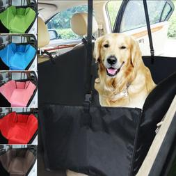 Car Rear Pet Dog Back Seat Cover Cat Auto Protector Waterpro