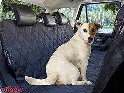 Car Seat Cover For Dogs Rear Hammock Padded Bench Protector