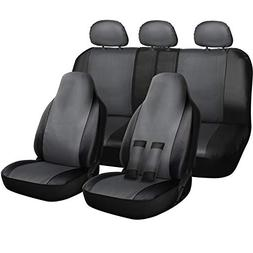 Oxgord PU Synthetic Leather 17-piece Seat Cover Set for Qual