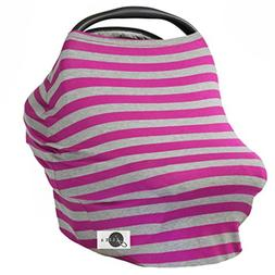 JLIKA Baby Car Seat Covers - Stretchy Infant Canopy and Nurs