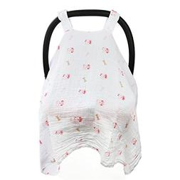 Baby Car Seat Covers To Protect From Sun, Bugs & Dust. XL So