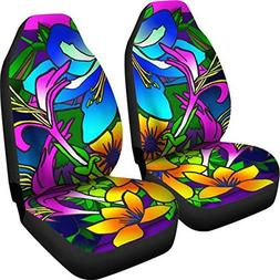 Muggalicious Car Seat Covers with Retro Vintage Hippie Eye P