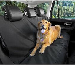 Car Seat Pet Cover Black Waterproof & Hammock Convertibl