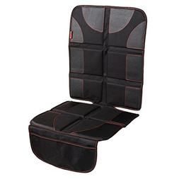 Car Seat Protector with Thickest Padding - Featuring XL Size