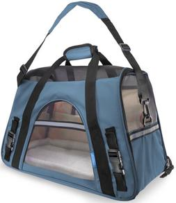 OxGord Comfortable Carrier Soft-Sided Pet Carrier , Rose Win