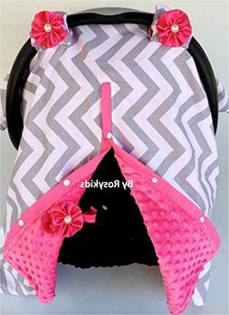 Rosy Kids Infant Carseat Canopy Cover 1pc Wind Proof Baby Ca