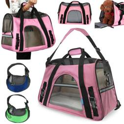 Cat & Dog Pet Carrier Airline Approved Soft Travel Carriers