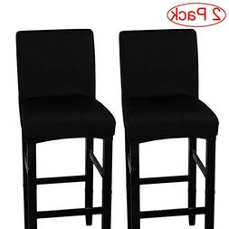 LJNGG 2 Pack Chair Cover Slipcover Counter Stool Covers Dini