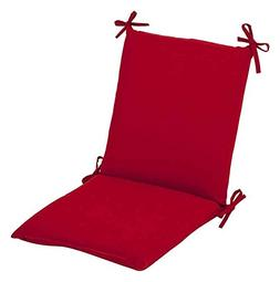 Chair Cushion in Pompeii Red