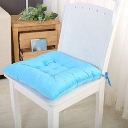 HISY UPDATE Chair pad seat cushion, Chair pad cover with tie