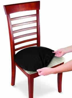Chair Slipcover Black Stretchable Washable Kitchen Bar Stool