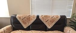 Octorose Chenille Lace Sofa Back Covers