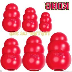 KONG CLASSIC Red Dog Toy xsmall small medium large XL treat