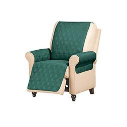 Classic Reversible Furniture Cover Protector Hunter Green Re