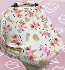 Clearance sale MultiUse Car Seat Canopy Nursing cover baby B