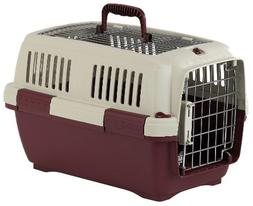 Marchioro Clipper Aran 3 Pet Carrier, 25-inches, Tan/Wine