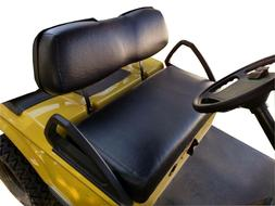 Club Car DS 2000+ Custom Golf Cart Front Seat Cover Set - NO