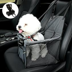 NO Collapse Dog Car Booster Seats Safety Seat Car Seat Cover