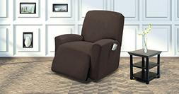 Fancy Collection Sure fit Stretch Recliner Stretch Slipcover