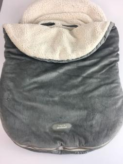 JJ Cole Collections BundleMe Gray Sherpa Lined Car Seat Stro