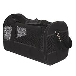 Petroad ColorPet Soft Sided Travel Pet Carrier, Black