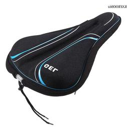Comfortable Bike Seat Cover Wide Exercise Bicycle Saddle Cus