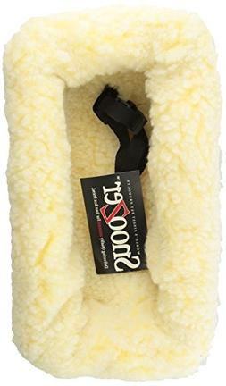 Snoozer Console Pet Car Seat Cream Fur, Small, Grey