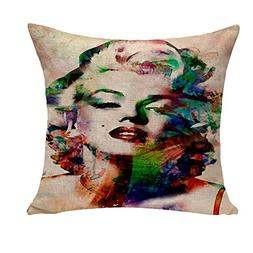 Loool 18 By 18 Inches Cotton Linen Marilyn Monroe Home Decor