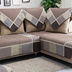 OstepDecor Multi-size Pet Dog Couch All Seasons Quilted Cott